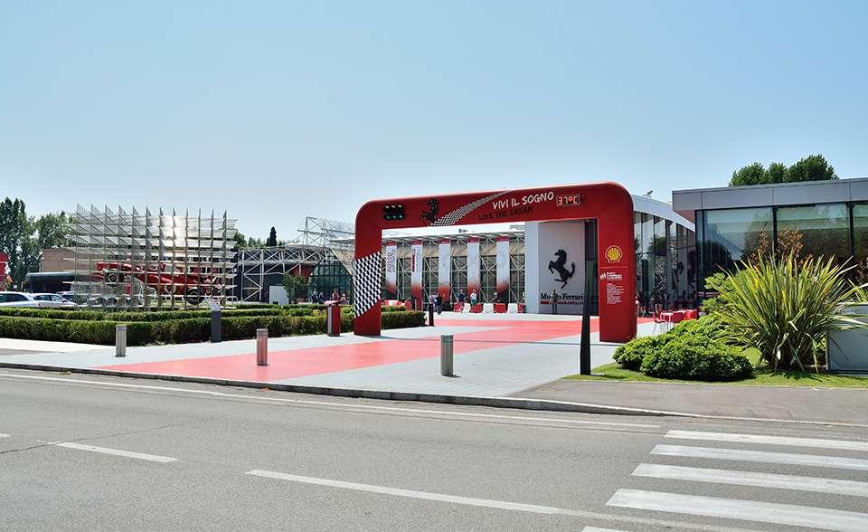 representative office of ferrari cars