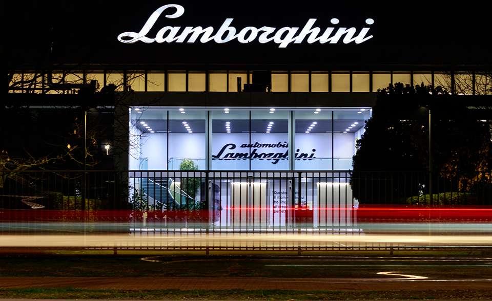 representative office of lamborghini