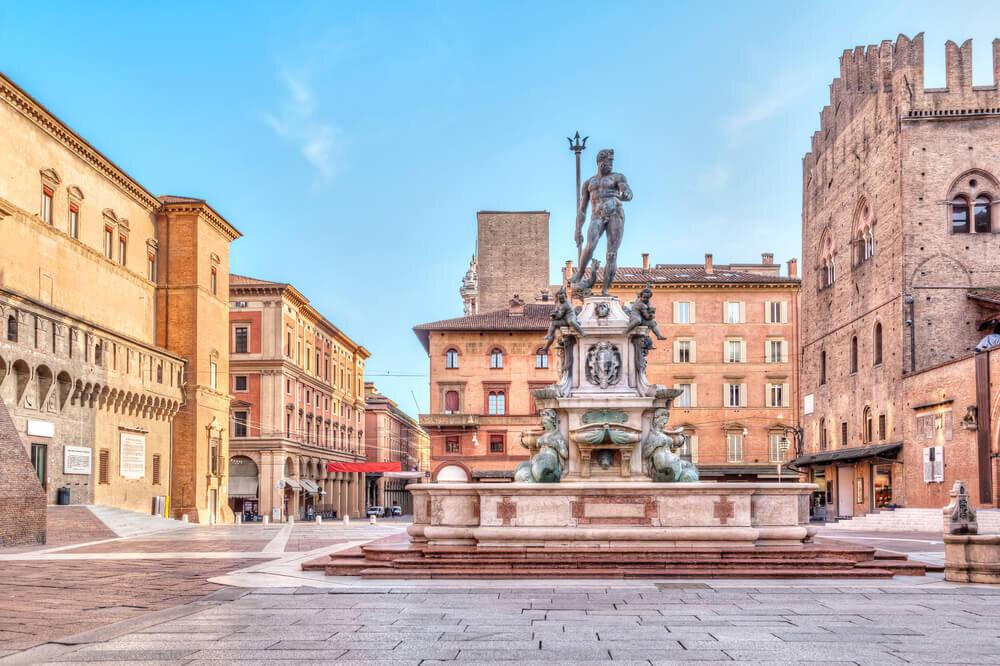 Piazza Maggiore and the Fountain of Neptune