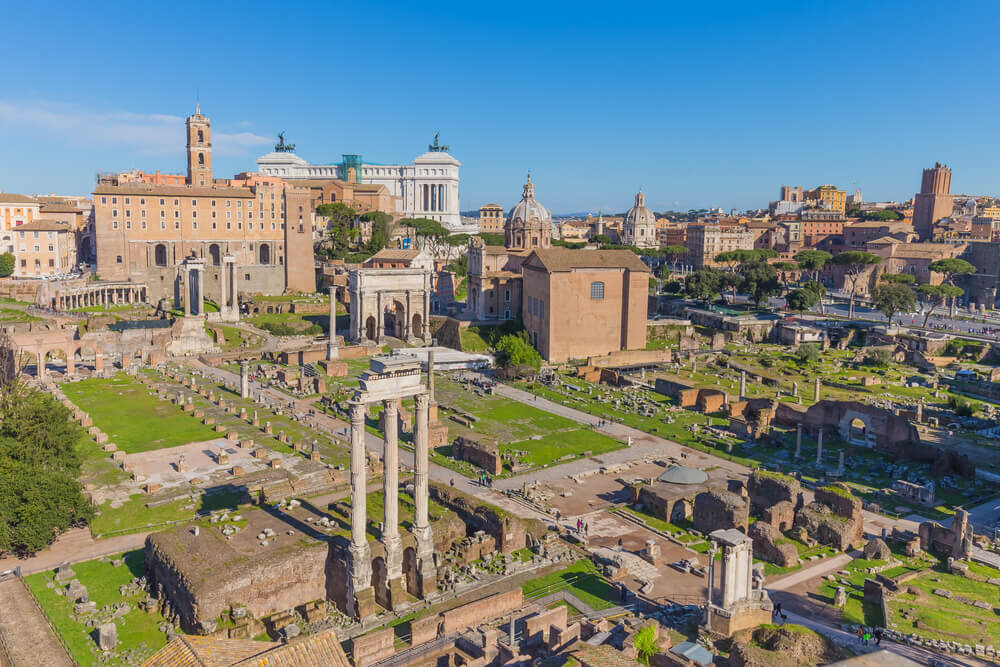 The Roman Forum and the Palatine Hill
