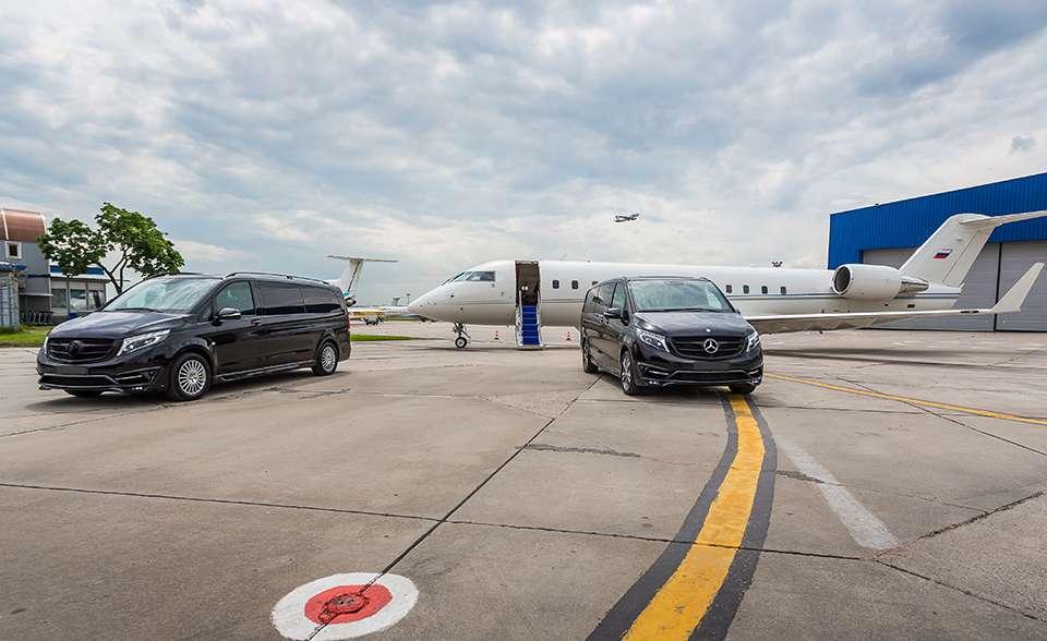 Mercedes Van Auto Elite Airport Service